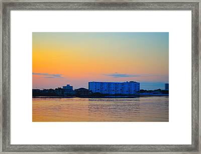 Ormond Beach Framed Print by Karl Davis