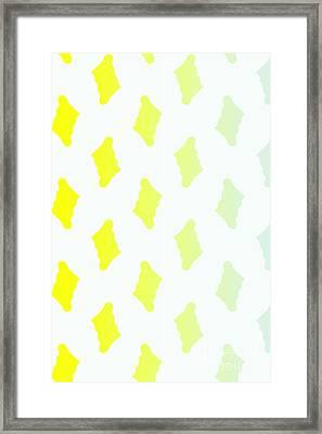 Ornament V Framed Print by Tatjana Popovska