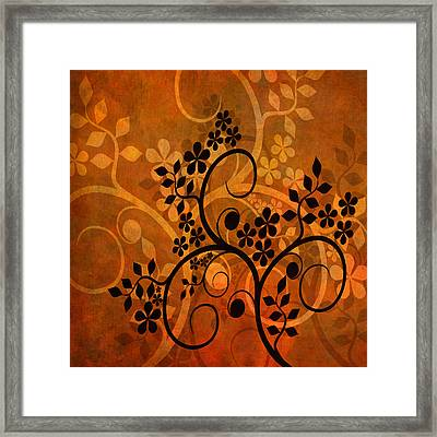 Ornamental 1 Version 1 Framed Print