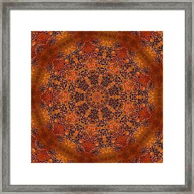 Ornamental 1 Version 1 Medallion  Framed Print
