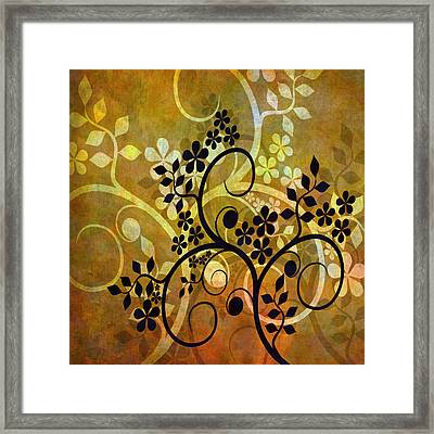 Ornamental 1 Version 2 Framed Print