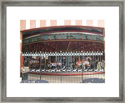 Framed Print featuring the photograph Ornamental Fence by Barbara McDevitt