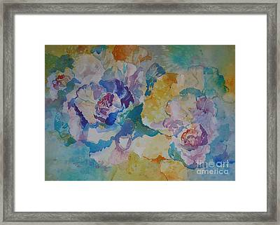 Ornamentals In Sunlight Framed Print