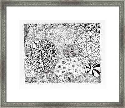 Ornaments Galore Framed Print