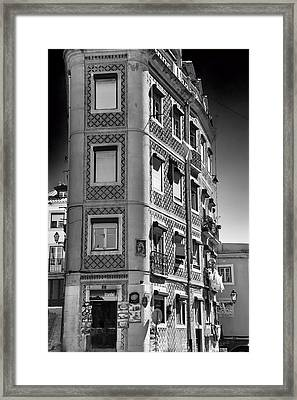 Ornate Apartment Block Framed Print