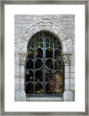 Ornate Door Framed Print by Brenda Conrad