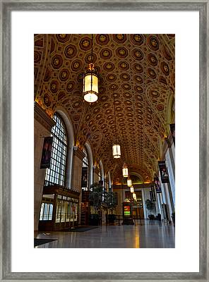 Ornate Entryway Framed Print by Frozen in Time Fine Art Photography
