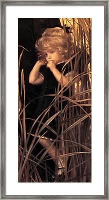 Orphan Detail Framed Print by James Jacques Joseph Tissot