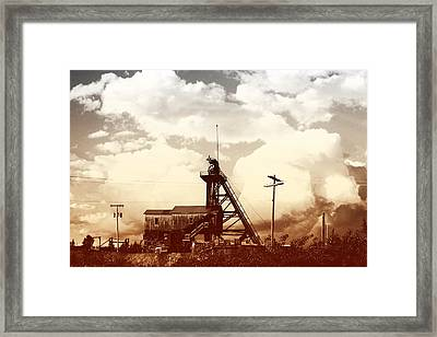 Framed Print featuring the photograph Orphan Girl Mine  by Kevin Bone