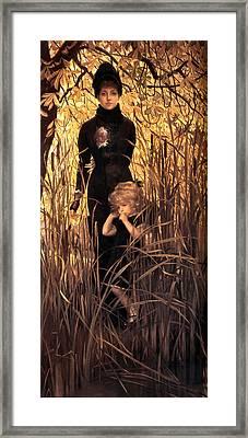Orphan Framed Print by James Jacques Joseph Tissot