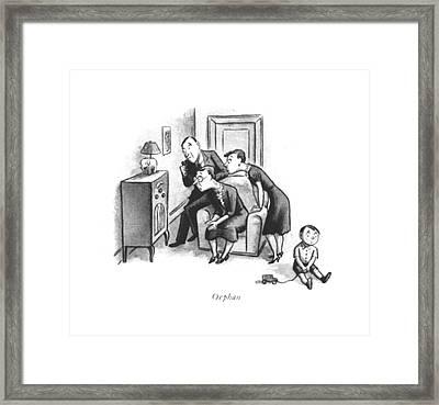 Orphan Framed Print