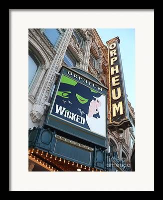 Orpheum Theatre Framed Prints
