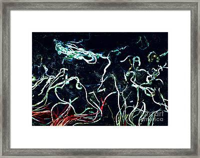 Orpheus And Eurydice Framed Print by Petros Yiannakas