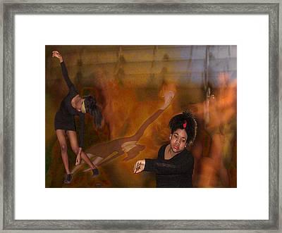 Orpheus' Dream Framed Print by Alice Ramirez