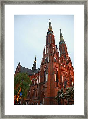 Framed Print featuring the photograph St. Florian's Cathedral by Steven Richman