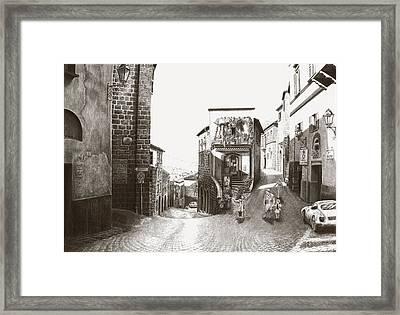 Orvieto Italy Framed Print