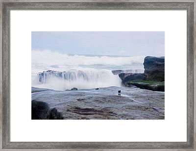 Osa Ocean Framed Print