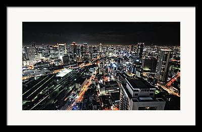 Osaka Photographs Framed Prints