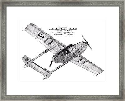 Oscar Deuce Custom One Framed Print by Dale Jackson