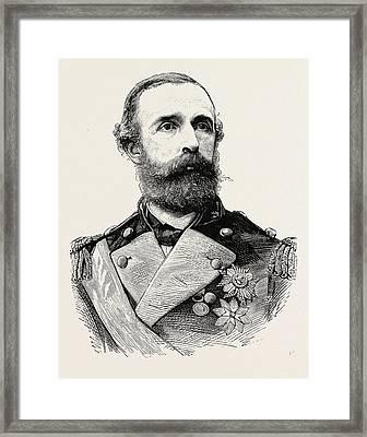 Oscar II. Oscar II 21 January 1829  8 December 1907 Framed Print by Norwegian School