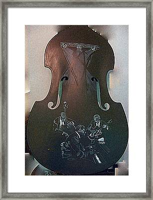Oscar Peterson Trio Framed Print