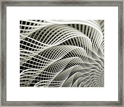 Oscillation Framed Print by Kevin Trow