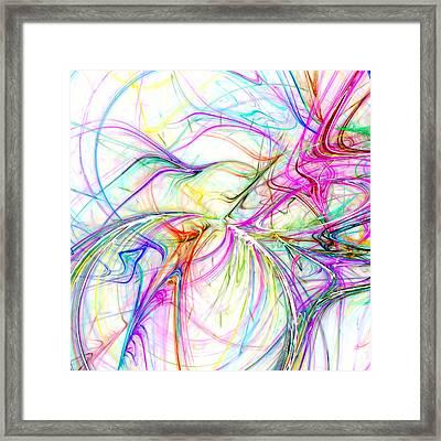 Oscillation Framed Print