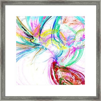 Oscillation...composer Framed Print