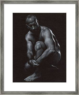 Oscuro 10 Framed Print by Chris Lopez
