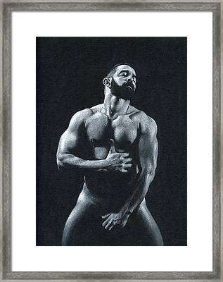 Oscuro 11 Framed Print by Chris  Lopez