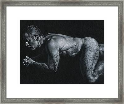 Oscuro 15 Framed Print by Chris Lopez