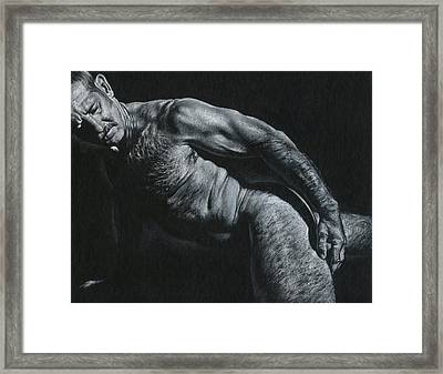 Oscuro 16 Framed Print by Chris Lopez