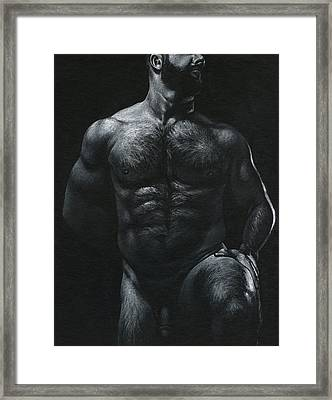 Oscuro 18 Framed Print by Chris Lopez