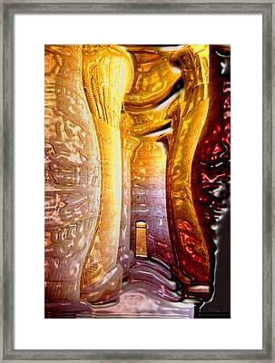 Osiris Had One To Many. Framed Print