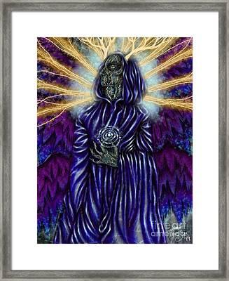 Osiris Kintsukoroi Framed Print by Coriander  Shea