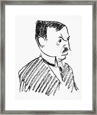 Oskar Pfister (1873-1956) Framed Print