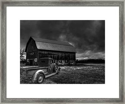 Oslo Corners Farm Framed Print