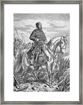 Osman Nuri Pasha Framed Print by Bildagentur-online/tschanz