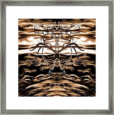 Osmar - The Lord Of The Second Dimension Framed Print by Yolanda Raker