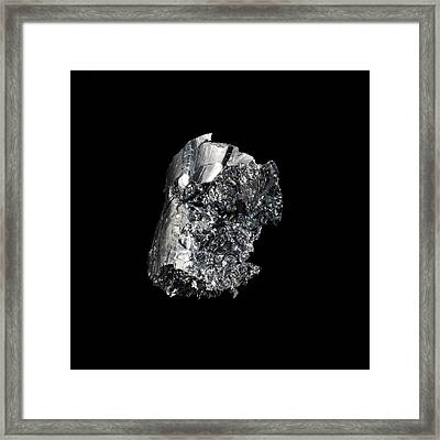 Osmium Framed Print by Science Photo Library