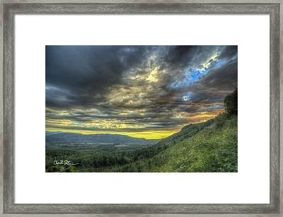 Oso Valley Framed Print