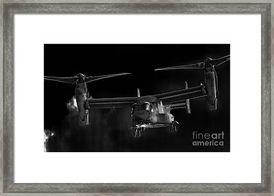Osprey Night Ops Framed Print