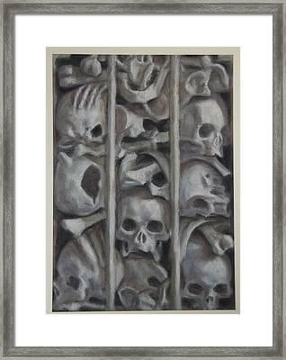 Ossuary Framed Print
