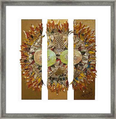 Osun Sun Framed Print