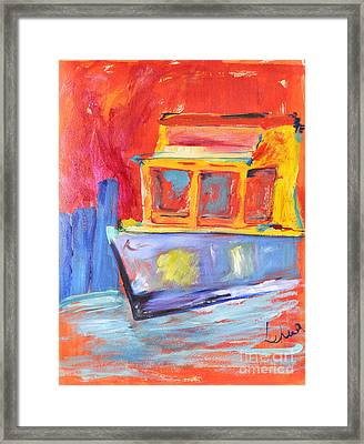 Other Boat Framed Print by  Lehua