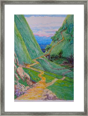 Other Paths Framed Print