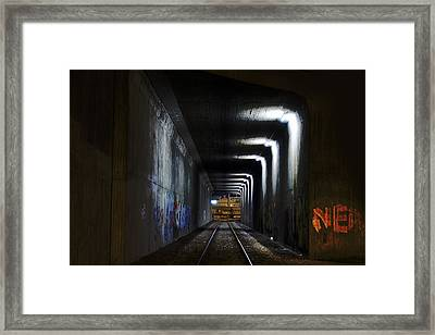 Other Side Of The Tunnel Framed Print