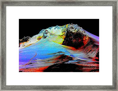 Otherwordly Places Framed Print