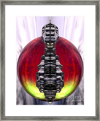 Otherworld - Fire Framed Print