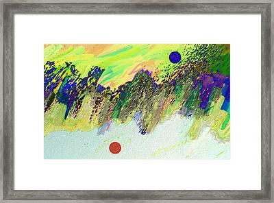 Otherworldly Framed Print by Lenore Senior
